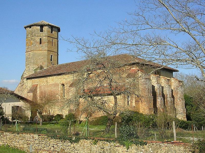 Photo du Monument Historique Eglise Saint-Laurent situé à Montégut