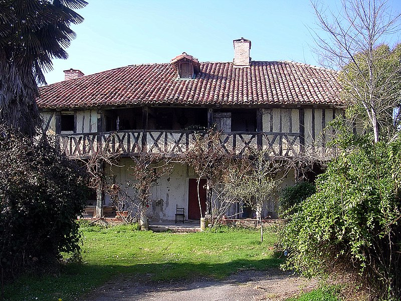 Photo du Monument Historique Maison La Salle dite maison du Gouverneur situé à Montégut