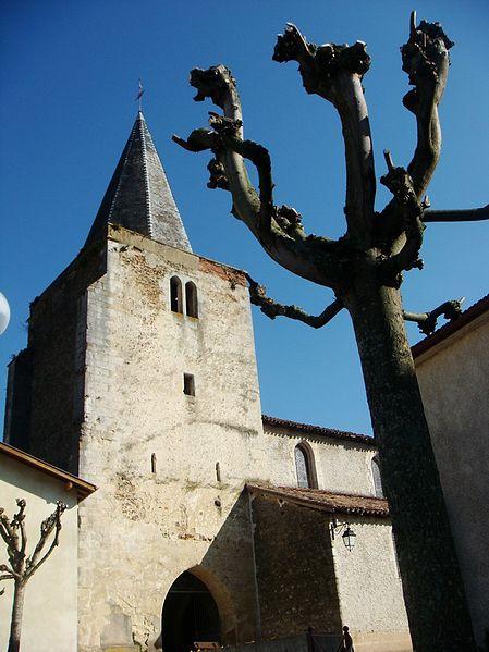 Photo du Monument Historique Eglise Saint-Pierre situé à Amou