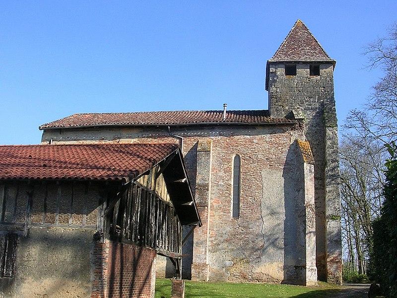 Photo du Monument Historique Eglise Saint-Martin-de-Gaube situé à Perquie