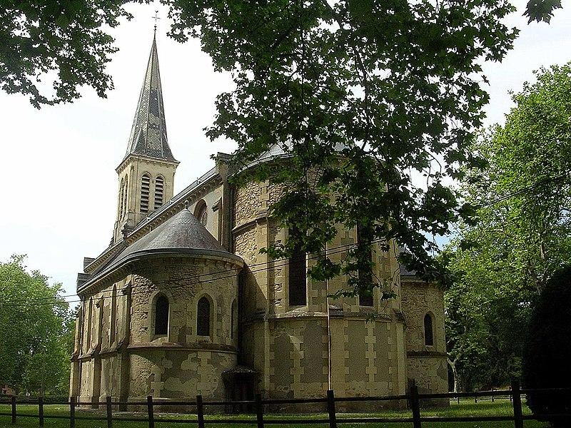 Photo du Monument Historique Eglise Saint-Louis situé à Uza
