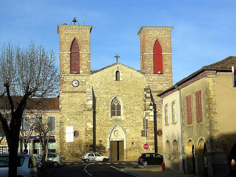 Photo du Monument Historique Eglise Saint-Pierre et Saint-Paul situé à Grenade-sur-l'Adour