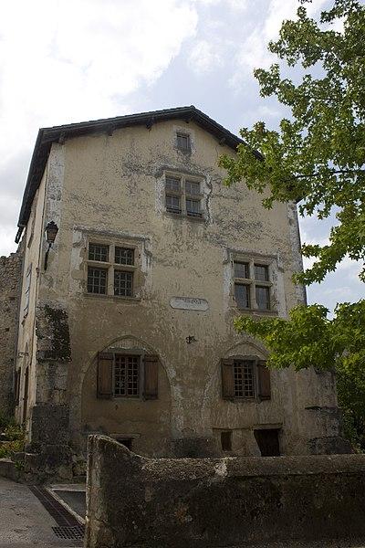 Photo du Monument Historique Maison des Jurats situé à Hastingues