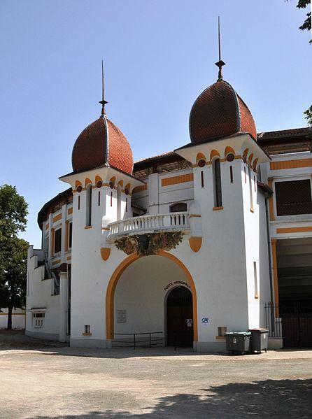 Photo du Monument Historique Arènes situé à Dax