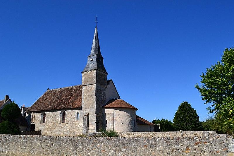 Photo du Monument Historique Eglise Notre-Dame situé à Areines