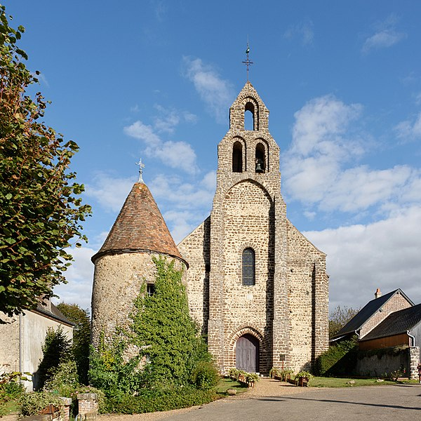 Photo du Monument Historique Eglise Notre-Dame-Saint-Louis situé à Arville