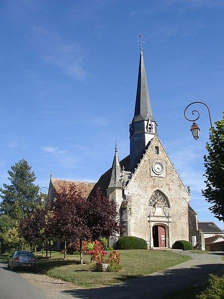 Photo du Monument Historique Eglise Saint-Jean-Baptiste situé à Baillou