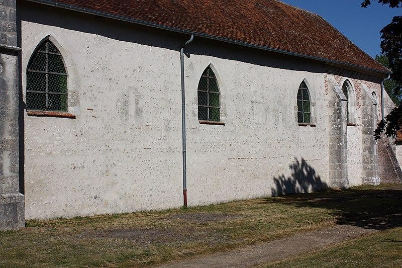 Photo du Monument Historique Eglise Saint-Baumer situé à Bauzy