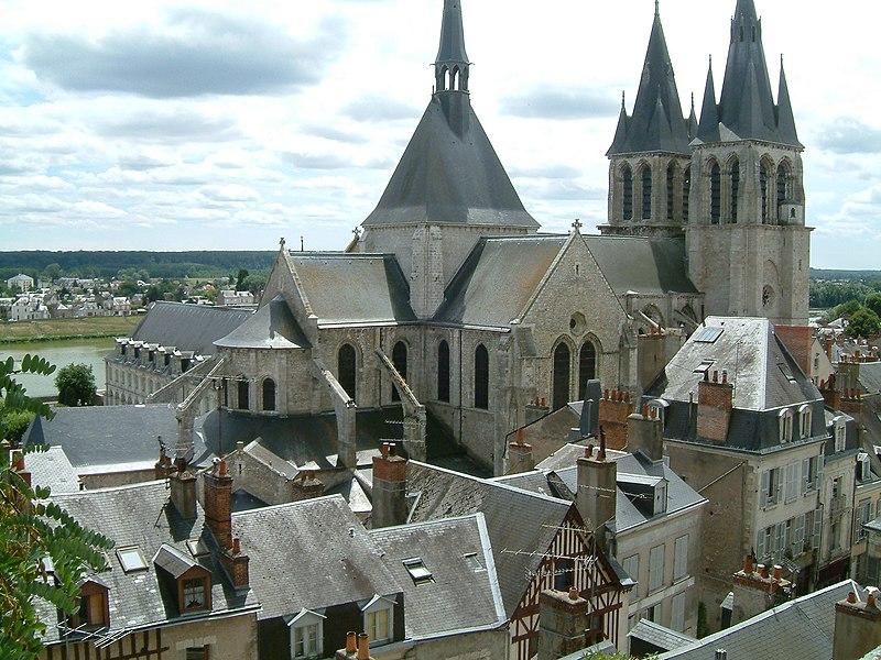 Photo du Monument Historique Eglise Saint-Nicolas-Saint-Lomer situé à Blois