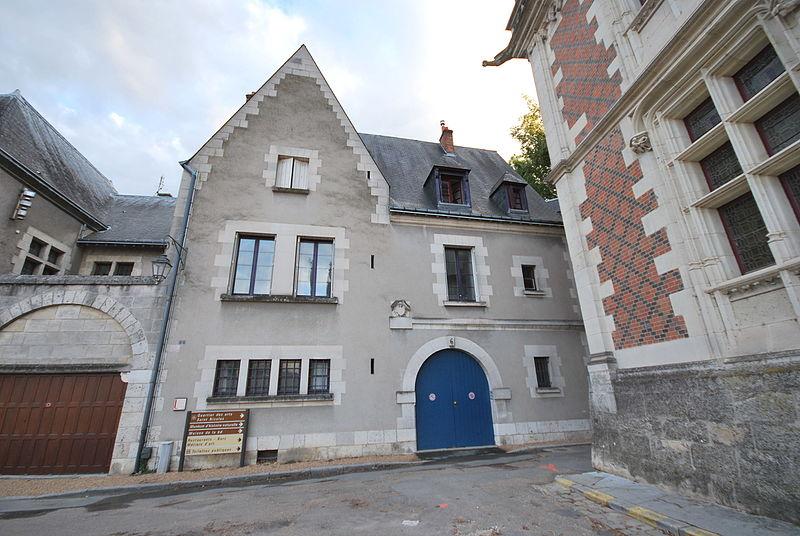 Photo du Monument Historique Hôtel d'Amboise situé à Blois