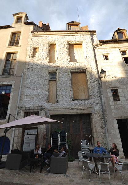 Photo du Monument Historique Maison du 16e siècle situé à Blois
