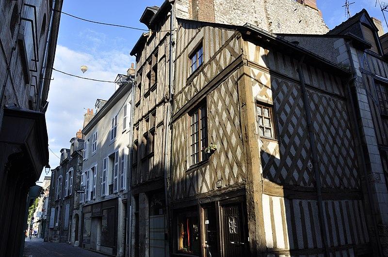 Photo du Monument Historique Maison situé à Blois