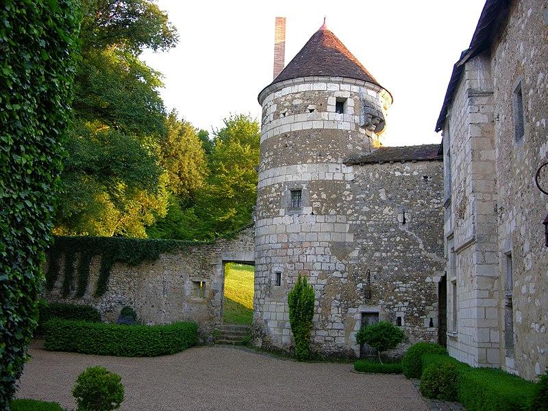 Photo du Monument Historique Manoir de Matval situé à Bonneveau
