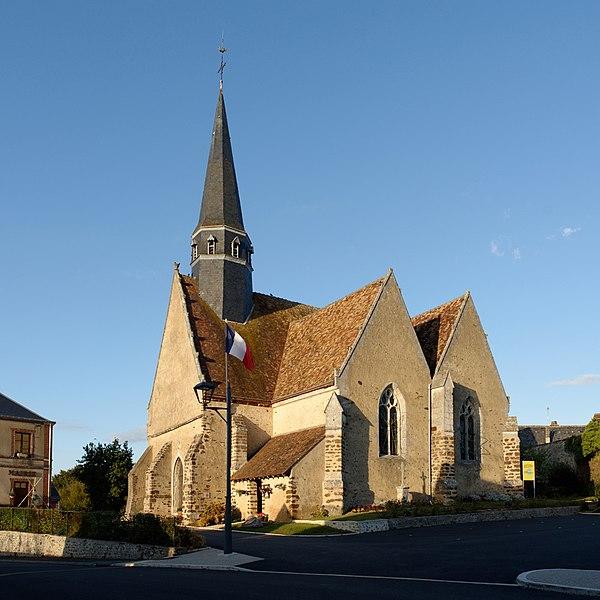 Photo du Monument Historique Eglise Saint-Pierre situé à Boursay
