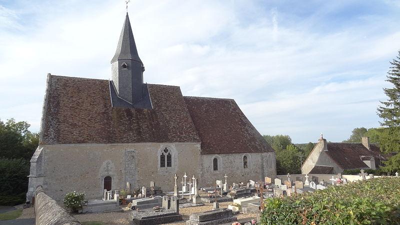 Photo du Monument Historique Eglise Saint-Médard situé à Brévainville