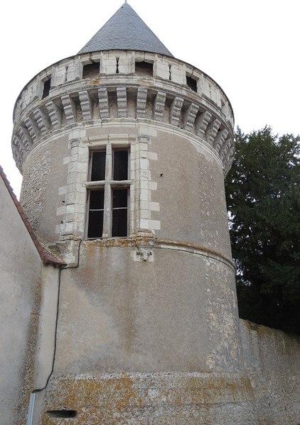 Photo du Monument Historique Château de Toisy situé à La Chapelle-Vendômoise