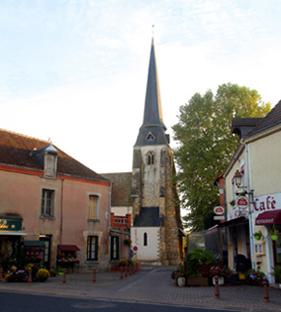 Photo du Monument Historique Eglise Saint-Martin situé à Châtres-sur-Cher