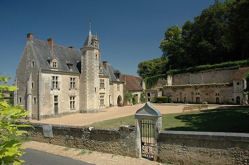 Photo du Monument Historique Château de la Possonnière, dit aussi Château de Ronsard situé à Couture-sur-Loir