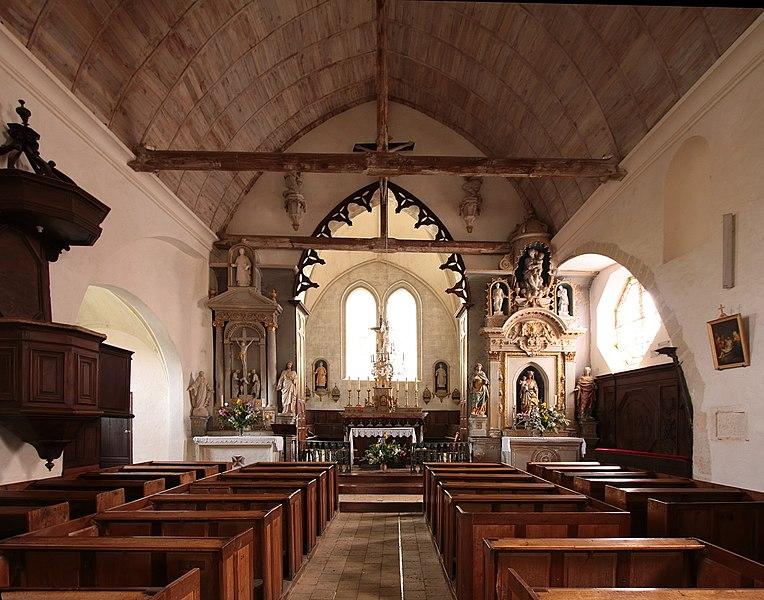 Photo du Monument Historique Eglise Saint-Gervais-Saint-Protais situé à Couture-sur-Loir