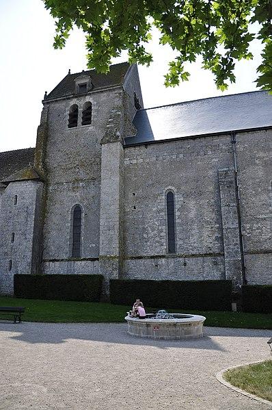 Photo du Monument Historique Eglise Notre-Dame situé à Fontaines-en-Sologne