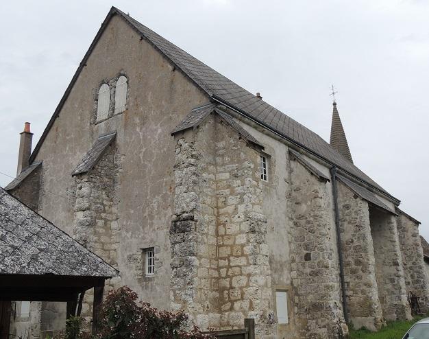 Photo du Monument Historique Ancien prieuré situé à Lancé