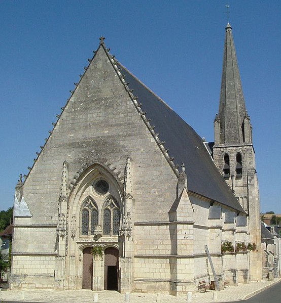 Photo du Monument Historique Eglise Saint-Martin situé à Lunay