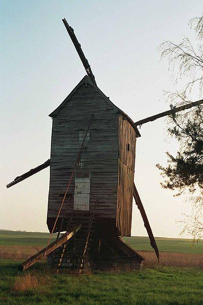 Photo du Monument Historique Moulin à vent situé à Maves