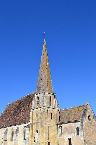 Photo du Monument Historique Eglise Saint-Lubin situé à Mazangé