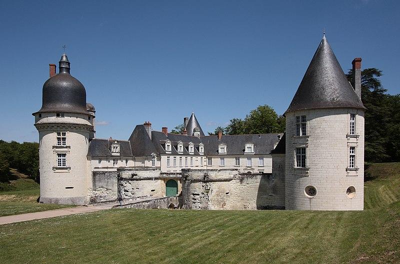 Photo du Monument Historique Château du Gué-Péan situé à Monthou-sur-Cher