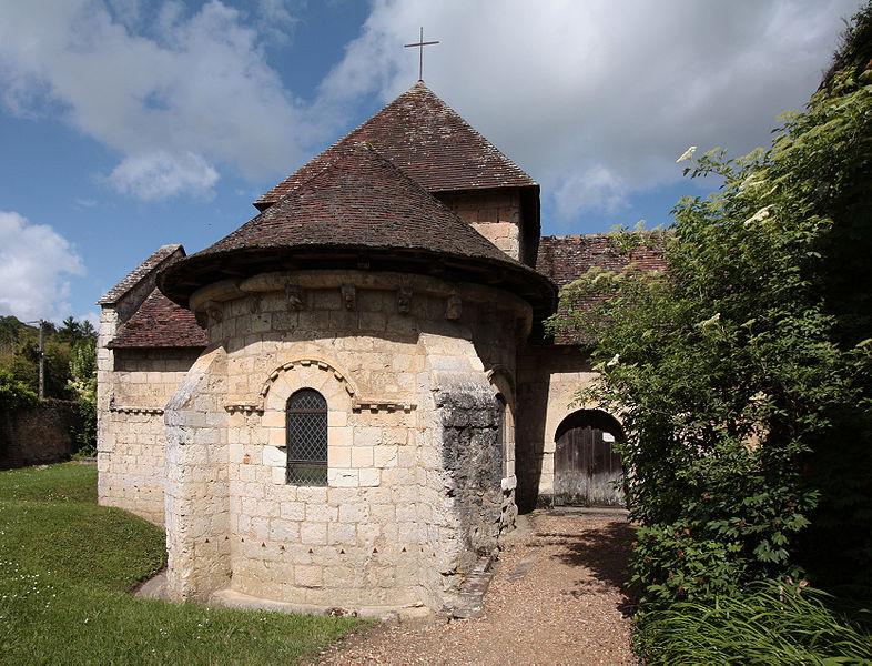 Photo du Monument Historique Ancien prieuré Saint-Gilles situé à Montoire-sur-le-Loir