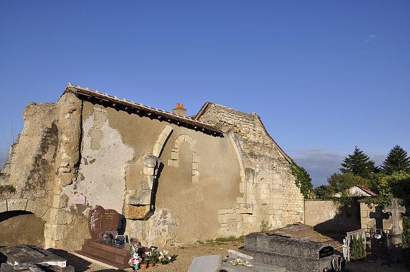 Photo du Monument Historique Ancienne chapelle Saint-Laurent situé à Montoire-sur-le-Loir