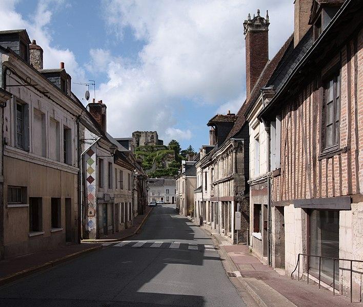 Photo du Monument Historique Maison Taillebois situé à Montoire-sur-le-Loir