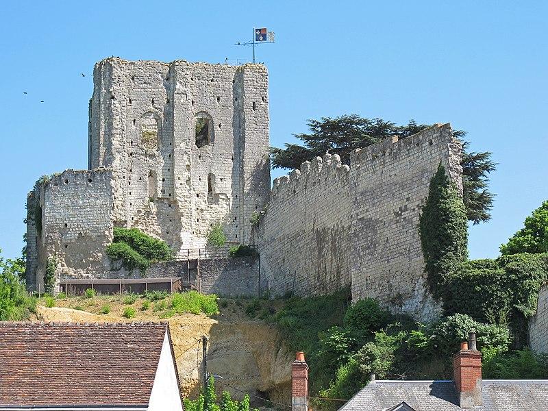 Photo du Monument Historique Ancien château situé à Montrichard