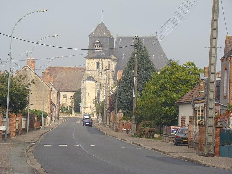 Photo du Monument Historique Eglise Saint-Pierre situé à Mur-de-Sologne