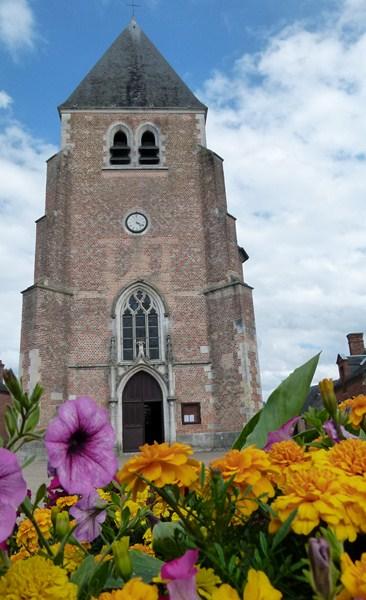 Photo du Monument Historique Eglise Saint-Martin situé à Nouan-le-Fuzelier