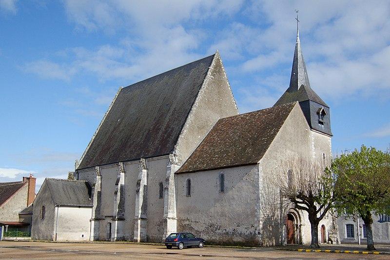 Photo du Monument Historique Eglise paroissiale Saint-Pierre situé à Pezou