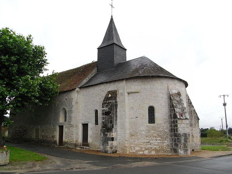 Photo du Monument Historique Ancienne église Saint-Jean-Baptiste situé à Rougeou