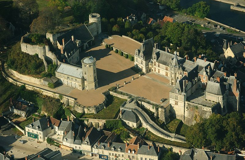 Photo du Monument Historique Château situé à Saint-Aignan