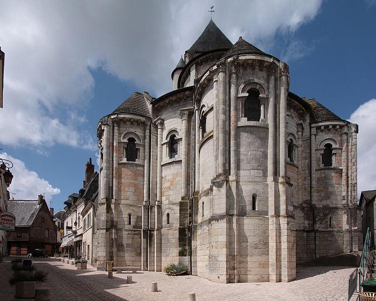 Photo du Monument Historique Eglise Saint-Aignan (ancienne collégiale) situé à Saint-Aignan
