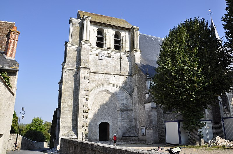 Photo du Monument Historique Eglise Saint-Dyé situé à Saint-Dyé-sur-Loire