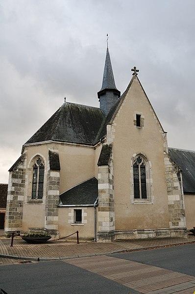 Photo du Monument Historique Chapelle Saint-Genoulph situé à Selles-Saint-Denis