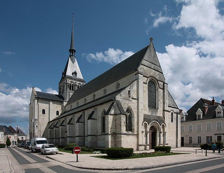 Photo du Monument Historique Eglise Notre-Dame la Blanche situé à Selles-sur-Cher
