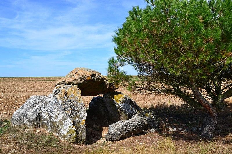 Photo du Monument Historique Dolmen de Cornevache situé à Selommes