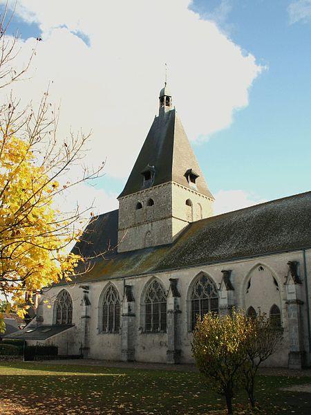 Photo du Monument Historique Eglise Saint-Christophe situé à Suèvres