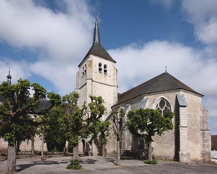 Photo du Monument Historique Eglise Saint-Martin situé à Talcy