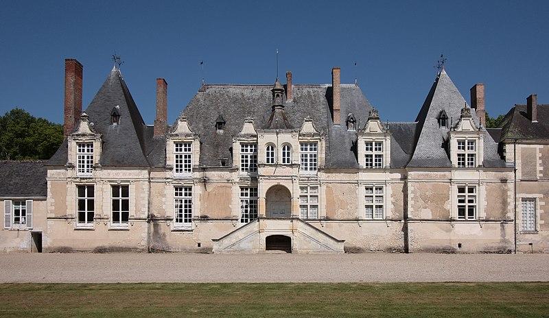 Photo du Monument Historique Château de Villesavin situé à Tour-en-Sologne