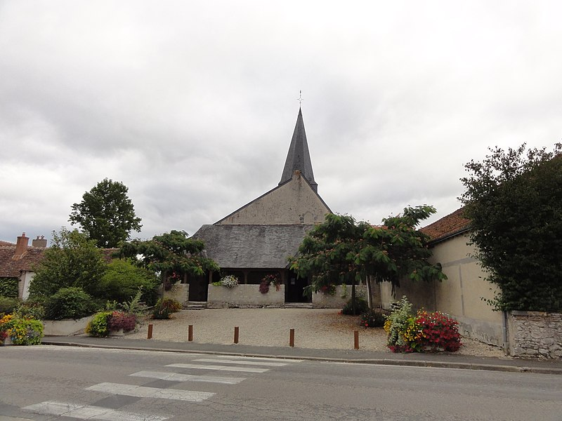Photo du Monument Historique Eglise Saint-Etienne situé à Tour-en-Sologne