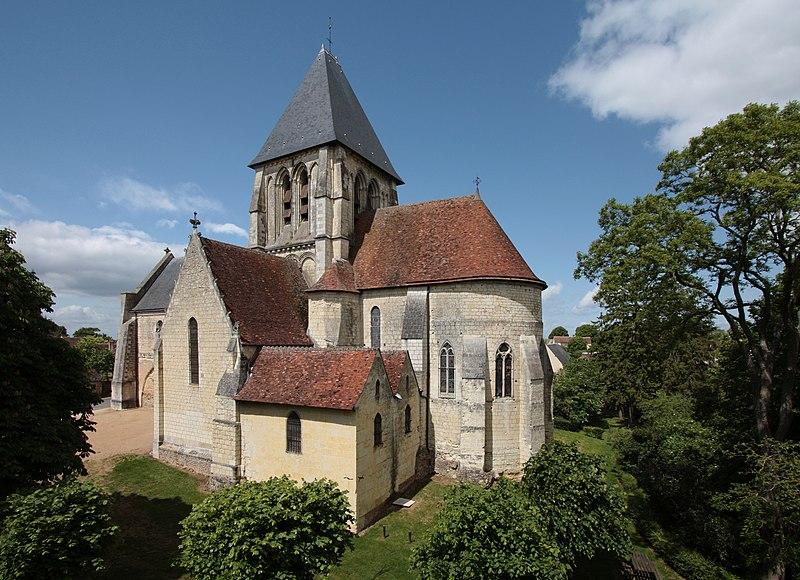 Photo du Monument Historique Eglise Saint-Martin£ situé à Troo