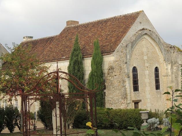 Photo du Monument Historique Ancien prieuré Notre-Dame-des-Marchais situé à Troo