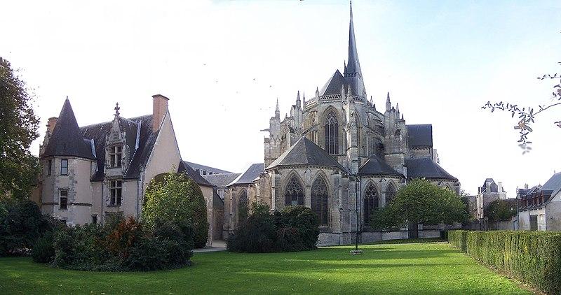 Photo du Monument Historique Ancienne abbaye de la Trinité situé à Vendôme